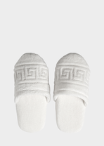 Greca Key Slippers - Versace Home Slippers