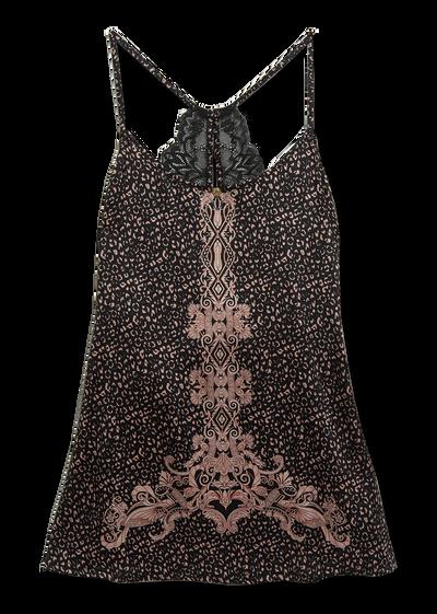 Iconic Baroque Silk Camisole Camisoles - Versace Underwear e Beachwear