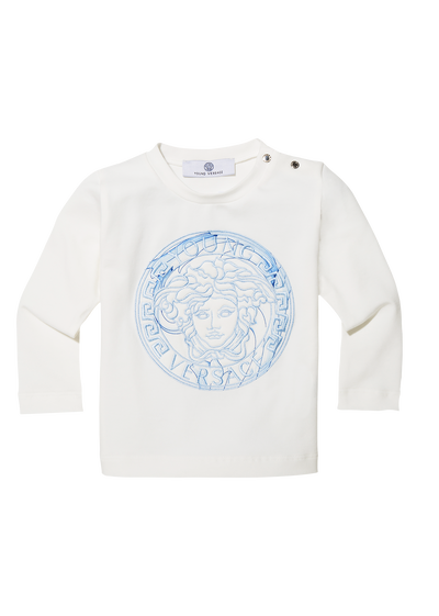 Shirt with embroidered Medusa Apparel - Young Versace