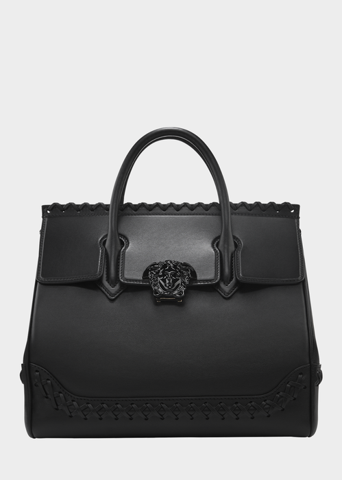 Palazzo Empire Cross Stitch Bag - Versace Top Handle