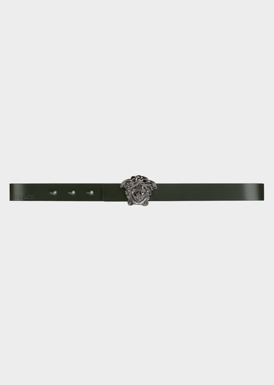 Belt with Medusa Buckle Junior Accessories  4 - 14 years - Young Versace