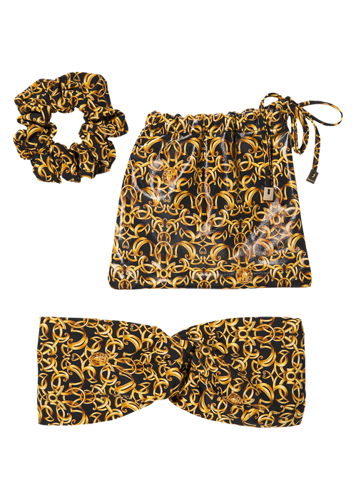 Baroque Print Hair Set - Versace Foulards & Scarves