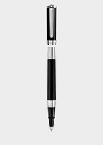 Black Olympia Ball Point Pen PNUL - Versace Preziosi