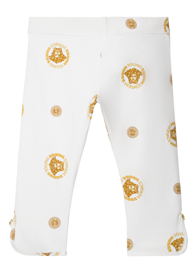 Medusa leggings with studs Apparel - Young Versace