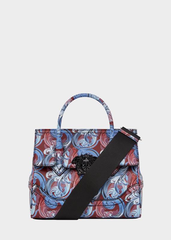 Fluid Baroque Palazzo Empire Bag - Versace Top Handle