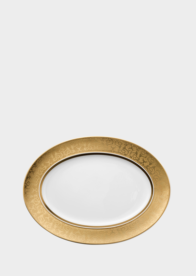 Medusa Gala Platter 40 cm Bowls & Trays - Versace