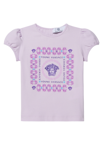 T-shirt with sparkling print Baby Clothing  6 - 36 months - Young Versace