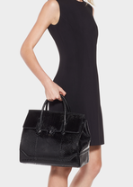 Palazzo Empire Python Bag - Versace Shoulder Bags