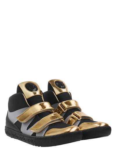 High-top sneakers with Medusa - Young Versace Accessories