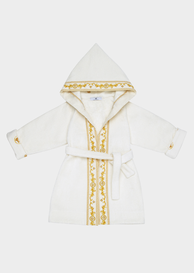 Medusa embroidered Baby Bathrobe Accessories - Young Versace