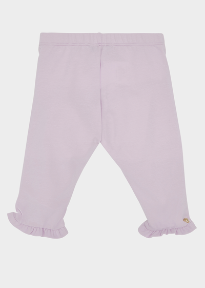 Fringe Cuff Cotton Pants Baby Clothing  6 - 36 months - Young Versace