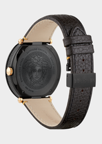 Black V-Metal Icon 46MM - Versace Watches