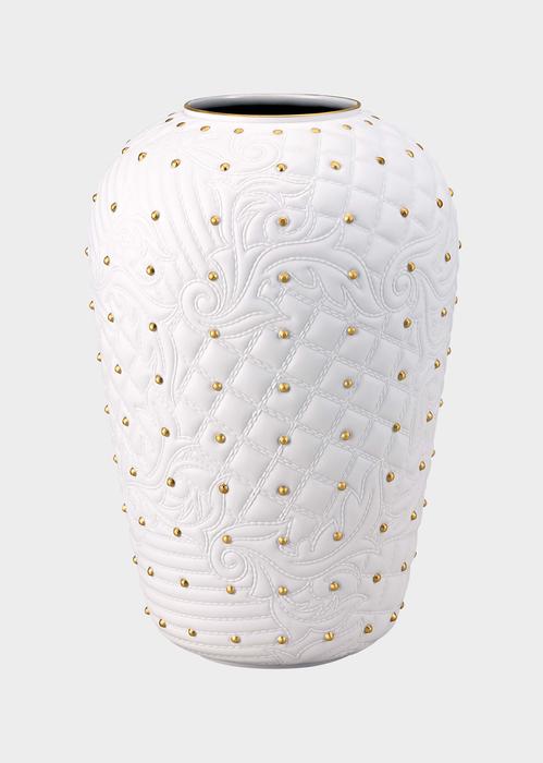Vaso Vanitas White borchiato N1441 - Versace