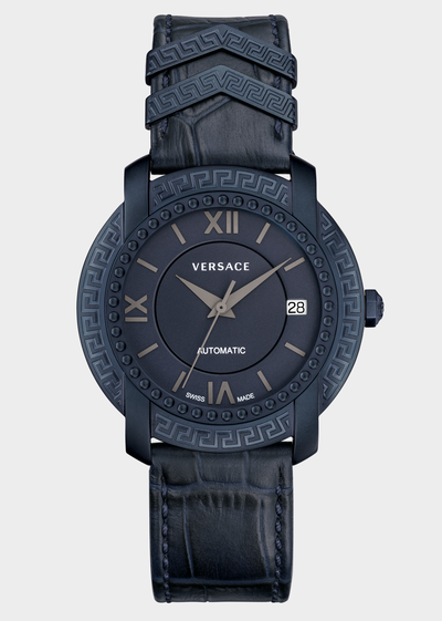 DV 25 Blue Dial Watch Watches - Versace Preziosi