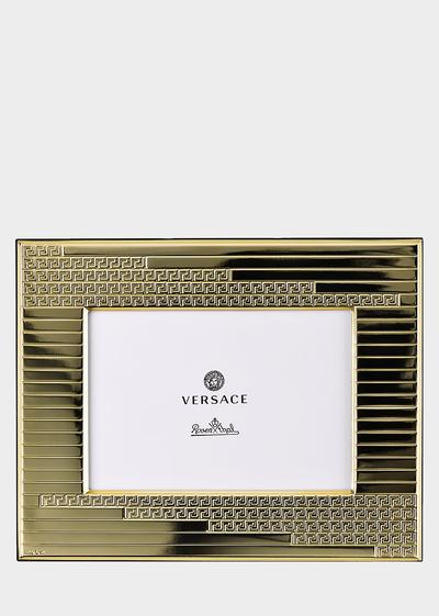 Greca Embossed Picture Frame Frames - Versace