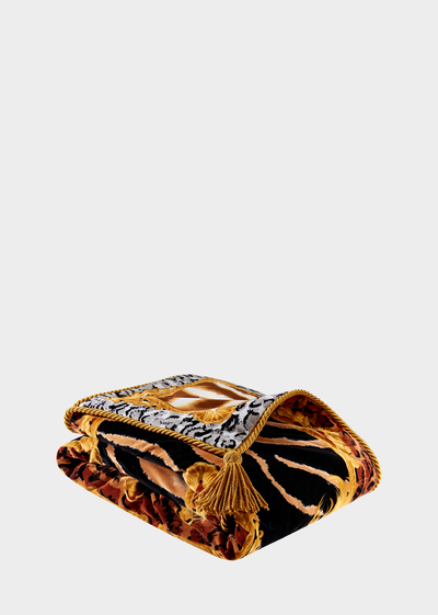 Zahara Print Throw Comforters - Versace Home