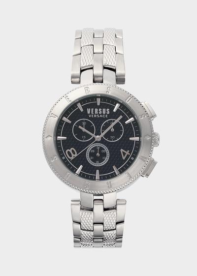 New Logo Silver Chromo Watch - Versus Watches