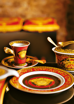 Medusa Coffee Cup & saucer - Versace Cups