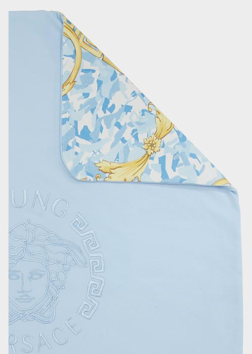 Reversible Baroque Baby Blanket Y2426 - Young Versace