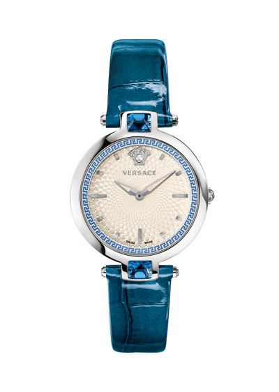 Crystal Gleam White Dial Watch - Versace Watches