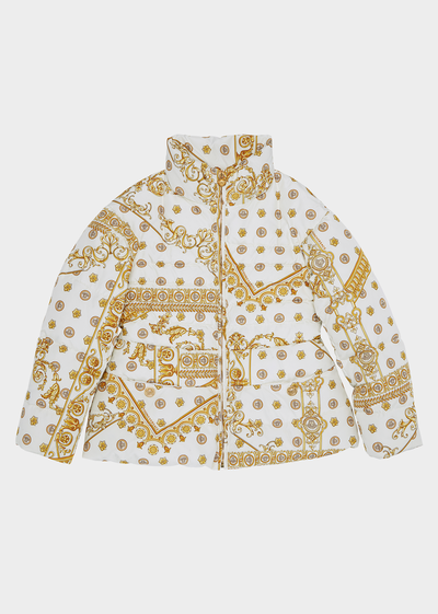 Cornici Puff Jacket Junior Clothing  4 - 14 years - Young Versace