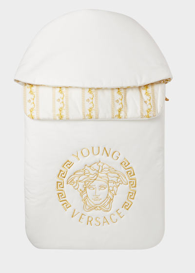 Hooded New Born Nest - Young Versace Accessories
