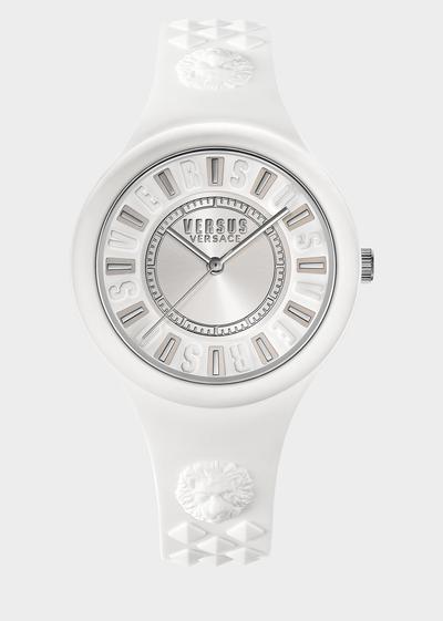 Fire Island White Dial Watch Watches - Versus Preziosi