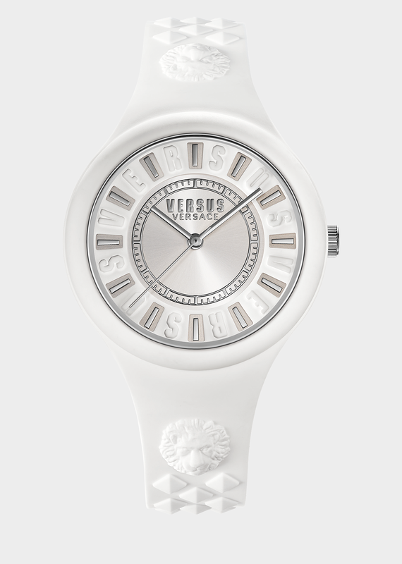 Fire Island White Dial Watch PNUL - Versus Preziosi