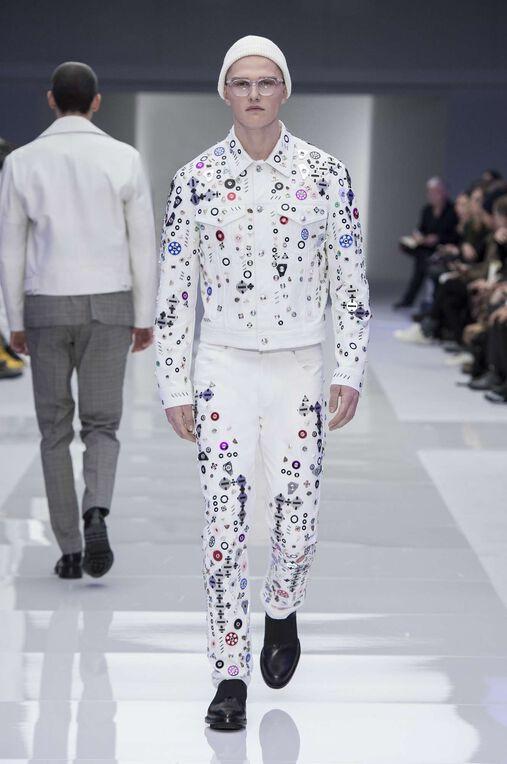 LOOK 13 Fashion Show Fall Winter