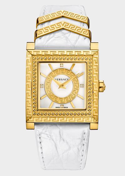 DV 25 White Watches - Versace Preziosi