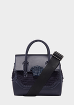 Crochet Medium Palazzo Empire Bag - Versace Top Handle