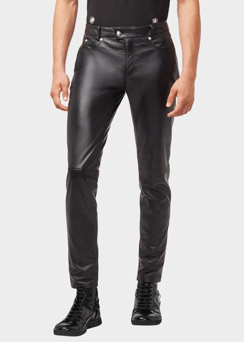 Nappa Leather Pants Pants & Jeans - VERSUS