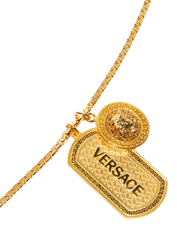 Medusa Necklace With Tag - Versace Necklaces