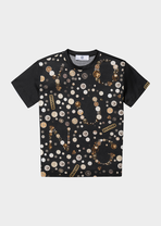 T-shirt with thaler print - Young Versace Clothing