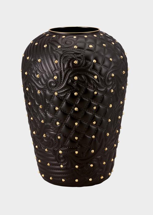 Vaso Vanitas Black borchiato - Versace Vasi