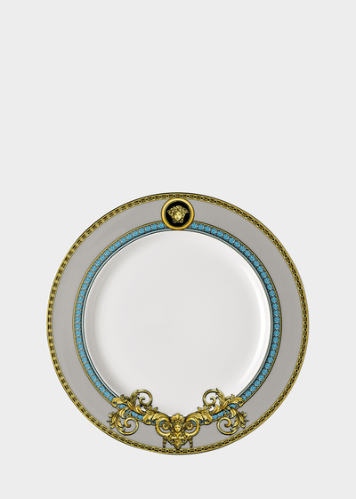 Blue Prestige Gala 22 CM Plate Plates - Versace Porcellane e Cristalli