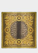Wild Baroque Silk-Blend Scarf - Versace Foulards & Scarves
