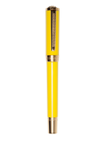 Yellow and Gold Olympia Ball Point - Versace Pens