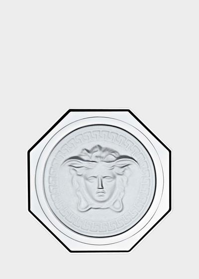 Medusa Lumiere Glass coaster Glass & Crystal - Versace Porcellane e Cristalli