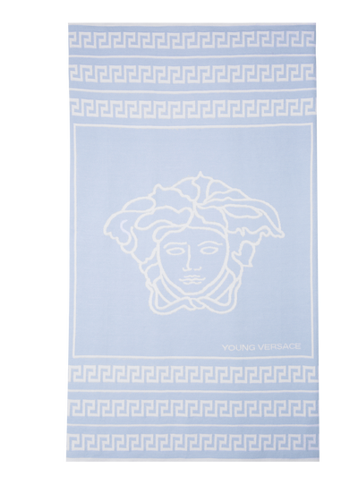 Soft Medusa and Greca Blanket - Young Versace Accessories