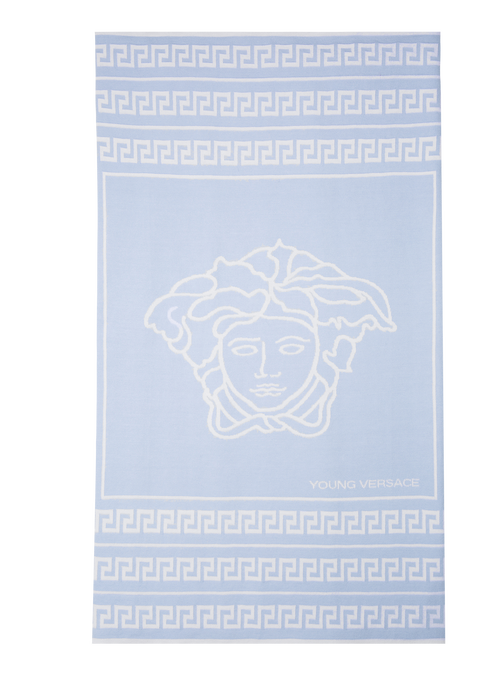 Soft Medusa and Greca Blanket Y1236 - Young Versace