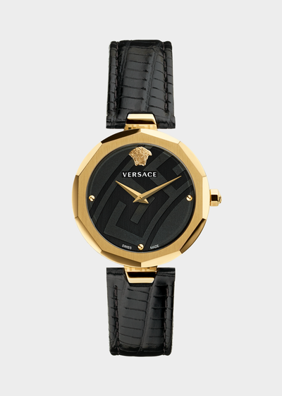 Black Idyia Watch - Versace Watches