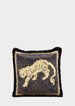 Lion Barocco Silk Pillow MS001 - Versace Home