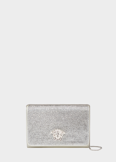 Palazzo Crystal Evening Clutch Clutch Bags - Versace