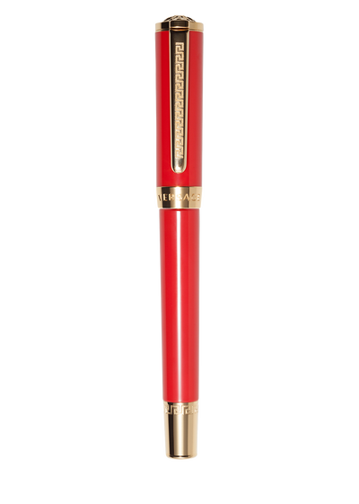 Red Olympia Ball Point Pen - Versace Pens