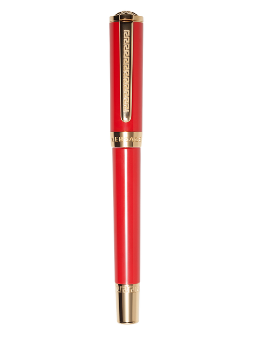 Red Olympia Ball Point Pen PNUL - Versace