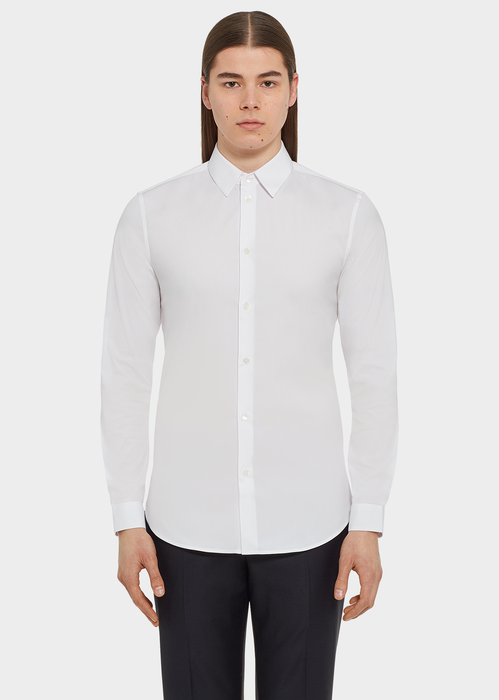 Hemd aus Baumwollstretch - Versace Hemden