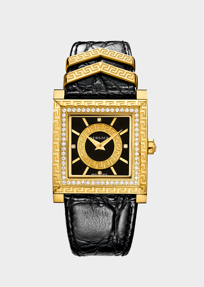 DV 25 Limited Edition Black Watches - Versace Preziosi