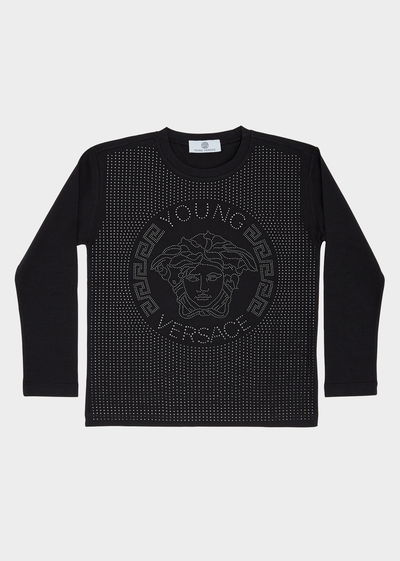 Medusa Head Long Sleeve T-Shirt Junior Clothing  4 - 14 years - Young Versace