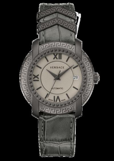 DV25 Dark Grey Automatic Watch Watches - Versace Preziosi